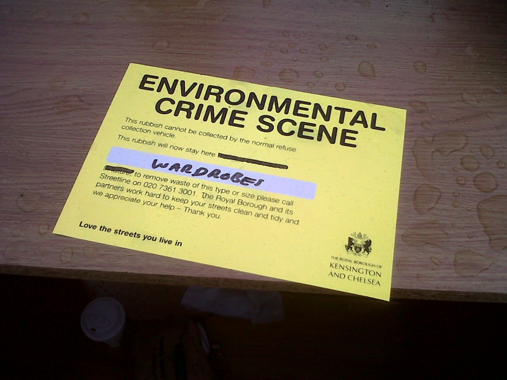 Environmental Crime Scene