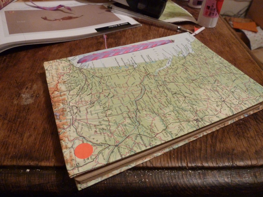 DIY map book
